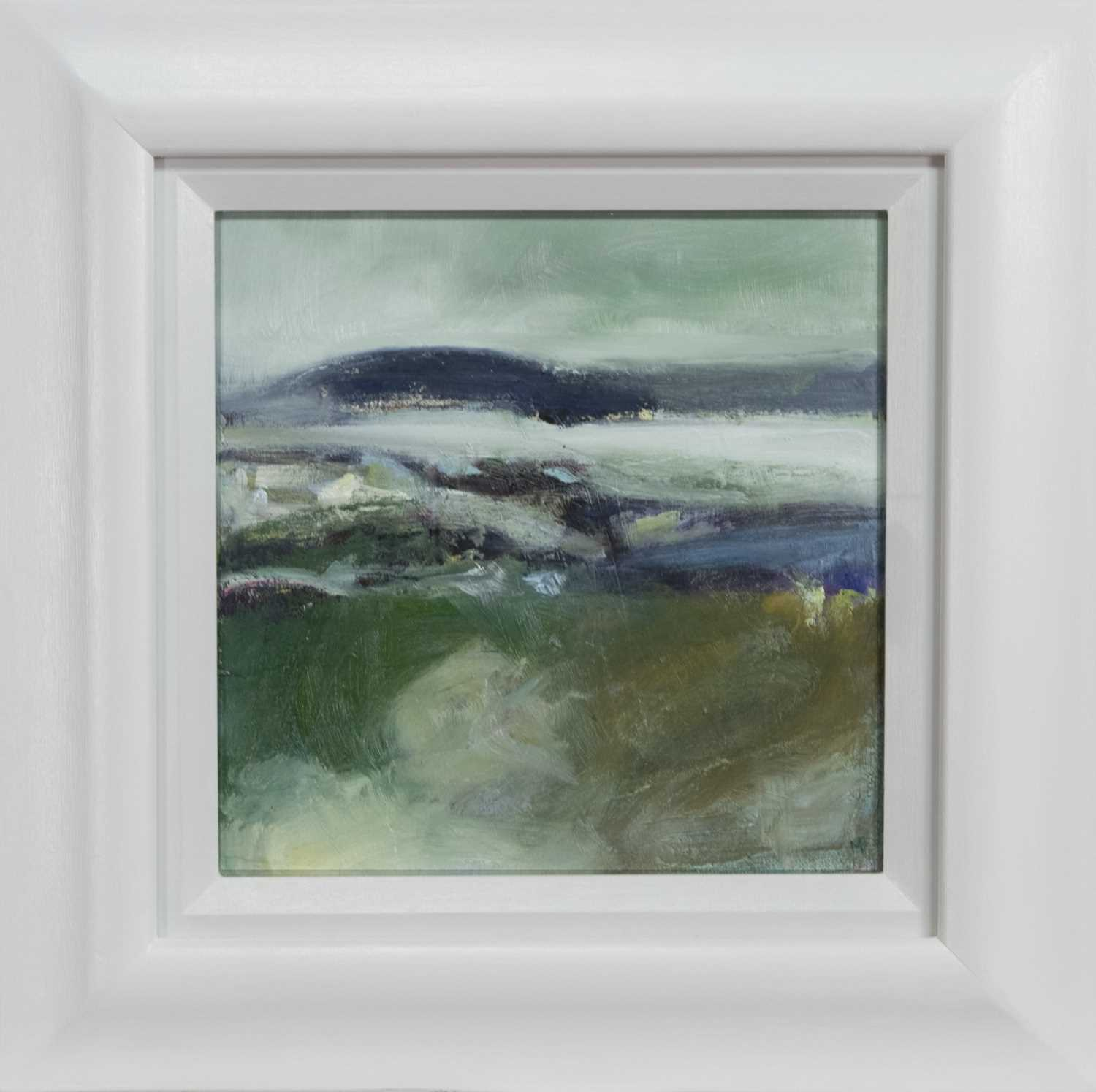 Lot 651 - ROLLERCOASTER SEA, HEBRIDES, AN OIL BY MAY BYRNE