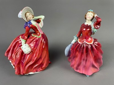 Lot 167 - A COLLECTION OF SEVEN ROYAL DOULTON FIGURES