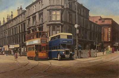 Lot 120 - ST GEORGE'S CROSS, AN OIL BY PETER ST CLAIR MERRIMAN
