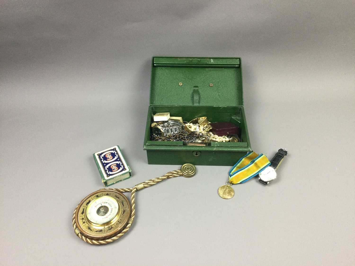 Lot 48 - A LOT OF COSTUME JEWELLERY, WATCHES AND OTHER ITEMS