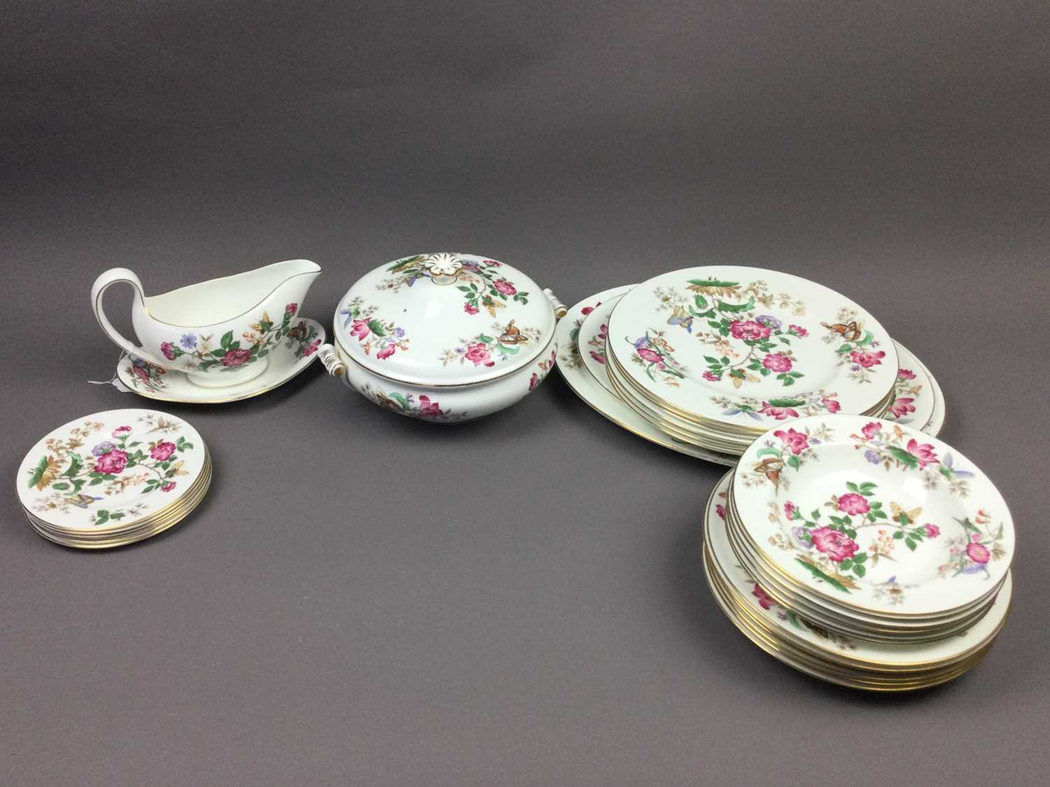 Lot 53 - A WEDGWOOD DINNER SERVICE