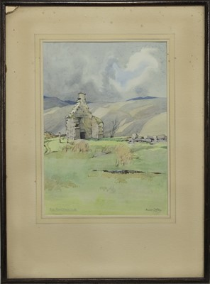 Lot 114 - ROB ROY'S HOUSE: LUIB AND ANOTHER, A PAIR OF WATERCOLOURS BY ALASTAIR DALLAS