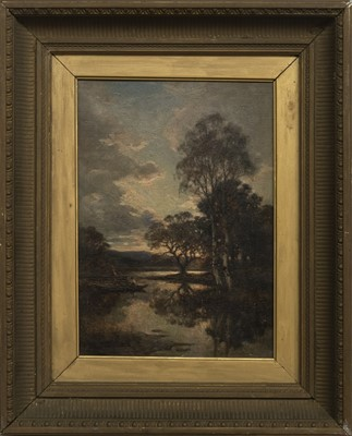 Lot 168 - AN UNTITLED OIL BY ALLAN RAMSAY