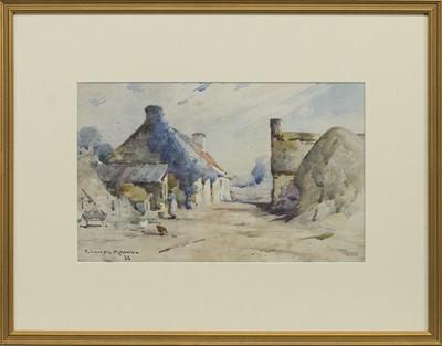 Lot 136 - DOUNE, A WATERCOLOUR BY ROBERT RUSSELL MACNEE