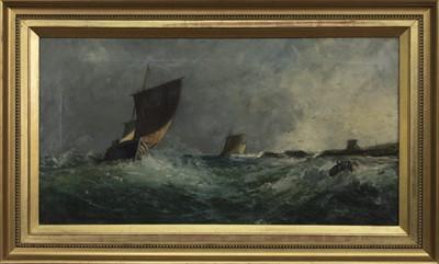 Lot 140 - ROUGH SEAS, AN OIL