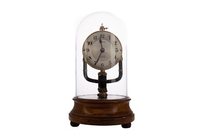 Lot 1164 - A BULLE ELECTRO-MAGNETIC EIGHT DAY CLOCK