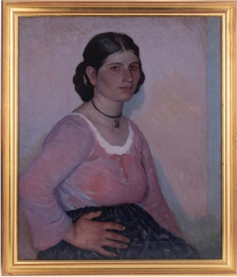 Lot 150 - AN UNTITLED PORTRAIT FROM THE CIRCLE OF GEORGE CLAUSEN