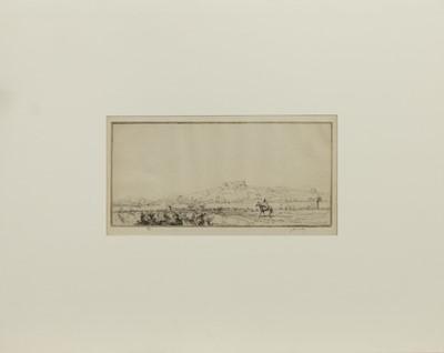 Lot 157 - TETUAN, AN ETCHING BY JAMES MCBEY