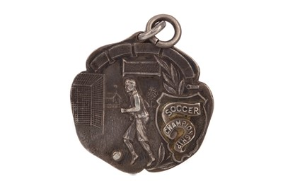 Lot 1751 - A SOCCER CHAMPIONSHIP SILVER MEDAL 1925/26