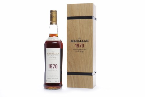Lot 491-MACALLAN 1970 FINE & RARE 32 YEARS OLD Active....