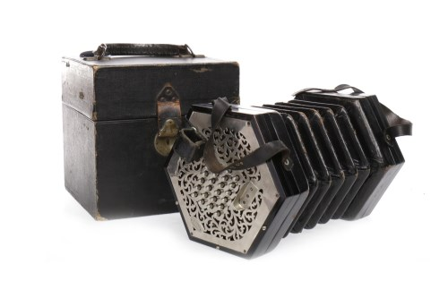 Lot 1068 - C. WHEATSTONE & CO. OF LONDON CONCERTINA with...