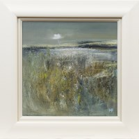 Lot 96 - MAY BYRNE, FADING LIGHT oil on board, signed...