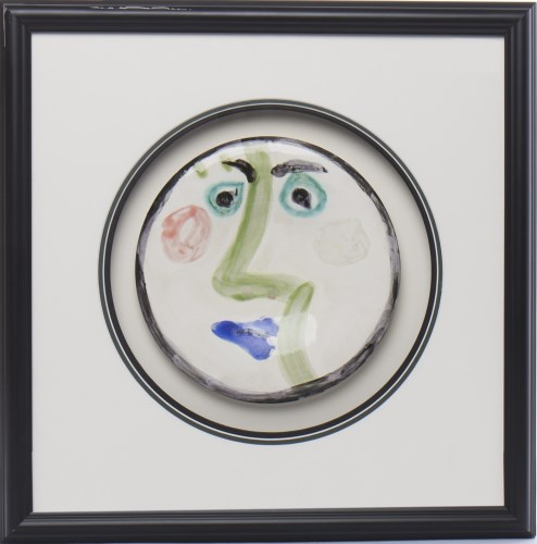 Lot 421-* PABLO PICASSO (SPANISH 1881 - 1973), VISAGE NO. ...