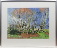 Lot 1306-* DOUGLAS LENNOX, ENTRANCE TO A FIELD, EASTHEADS...