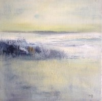 Lot 236 - MAY BYRNE, EARLY LIGHT 40.5cm x 40.5cm oil on...