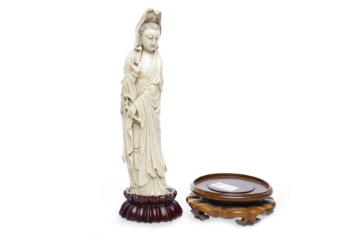Lot 514-LATE 19TH/EARLY 20TH CENTURY CHINESE IVORY...