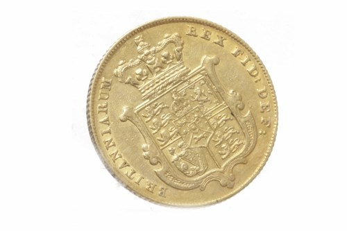 Lot 513-GOLD SOVEREIGN DATED 1829