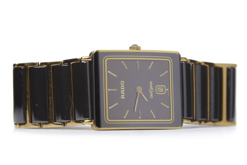 Lot 780-MID SIZE RADO DIASTAR CERAMIC QUARTZ WRIST WATCH...