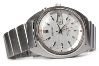 Lot 784-GENTLEMAN'S SEIKO BELL-MATIC STAINLESS STEEL...