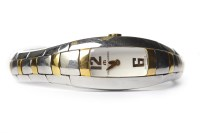 Lot 791-LADY'S MAURICE LACROIX BI COLOUR STAINLESS STEEL...