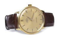 Lot 810-GENTLEMAN'S OMEGA SEAMASTER GOLD PLATED AUTOMATIC ...