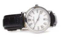 Lot 814-LADY'S MAURICE LACROIX STAINLESS STEEL QUARTZ...