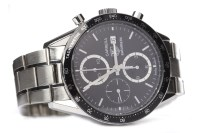 Lot 815-GENTLEMAN'S TAG HEUER CARRERA AUTOMATIC STAINLESS ...