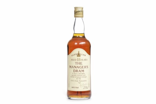 Lot 1020-GLENDULLAN 'THE MANAGER'S DRAM' 18 YEAR OLD...