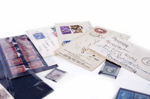 Lot 881 - LOT OF BRITISH AND OTHER STAMPS to include...