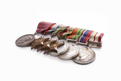 Lot 929-SEVEN WORLD WAR II MEDALS including one...