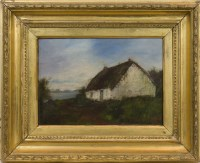 Lot 236-SCOTTISH SCHOOL (LATE 19TH CENTURY), THATCHED...