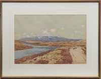 Lot 243-* GEORGE HOUSTON RSA RSW (SCOTTISH 1869 - 1947),...