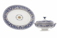 Lot 434-WEDGWOOD FLORENTINE PATTERN PART DINNER SERVICE...