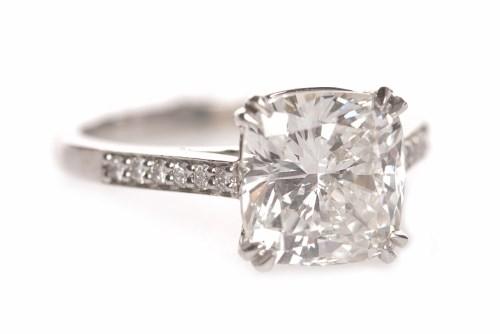 Lot 7-IMPRESSIVE GIA CERTIFICATED FLAWLESS DIAMOND...