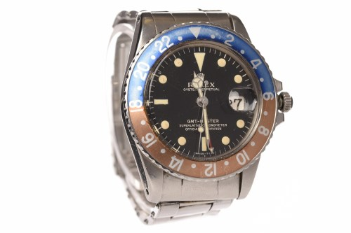 Lot 754-GENTLEMAN'S ROLEX OYSTER PERPETUAL GMT-MASTER...