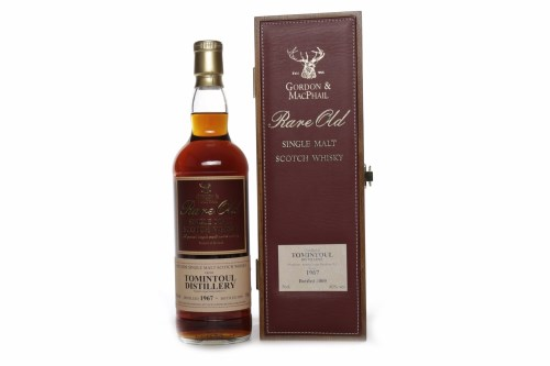 Lot 1226 - TOMINTOUL 1967 G&M RARE OLD AGED OVER 41 YEARS...