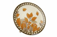 Lot 802-CHARLOTTE RHEAD FOR CROWN DUCAL CHARGER tubeline...