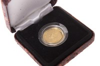 Lot 534-1993 ALDERNEY CORONATION ANNIVERSARY GOLD PROOF...