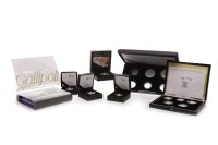 Lot 542-EIGHT VARIOUS SILVER PROOF COINS AND COIN SETS...