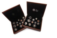 Lot 549-TWO UNITED KINGDOM PREMIUM ANNUAL PROOF COIN SETS ...