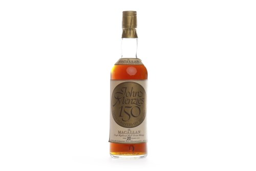 Lot 1043-MACALLAN OVER 20 YEARS OLD - JOHN MENZIES...