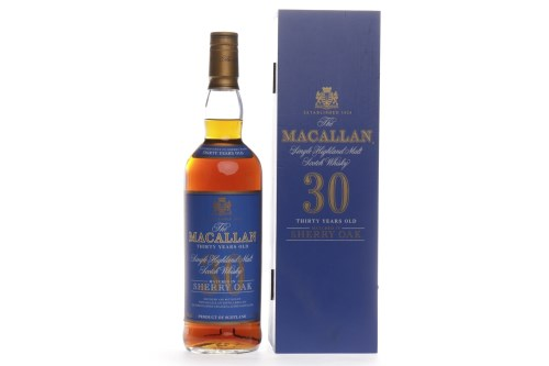 Lot 1317-MACALLAN 30 YEARS OLD SHERRY OAK Active....