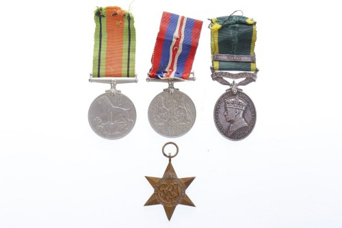Lot 1242-GEORGE V TERRITORIAL ARMY 'FOR EFFICIENT SERVICE' ...