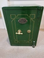 Lot 1311-EARLY 20TH CENTURY PERRY'S SAFE by Thomas Perry...