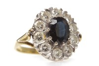 Lot 16-MID TWENTIETH CENTURY EIGHTEEN CARAT GOLD...