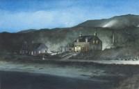Lot 67 - * AVRIL PATON, HEADLIGHTS, 1998 watercolour on...