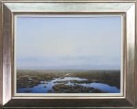 Lot 104 - * PHILIP BRAHAM, BROKEN GROUND oil on canvas,...