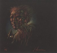 Lot 106 - * PETER HOWSON OBE, NIGHT pastel on paper,...