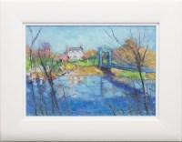 Lot 113 - ALAN ANDERSON, THE BLUE BRIDGE, GLASGOW GREEN...