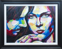 Lot 137 - * MAYOVICH, BLUE oil on board, signed, further...